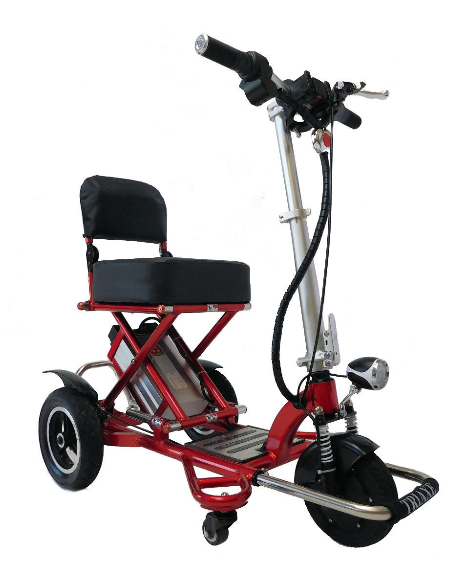 Enhance Mobility Triaxe Sport 3 Wheels Folding Mobility Scooter